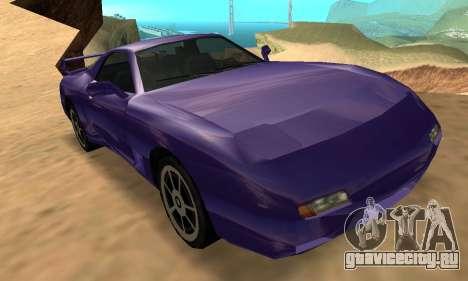 Beta ZR-350 для GTA San Andreas вид сверху
