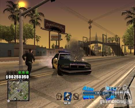 C-HUD Big Cull для GTA San Andreas четвёртый скриншот