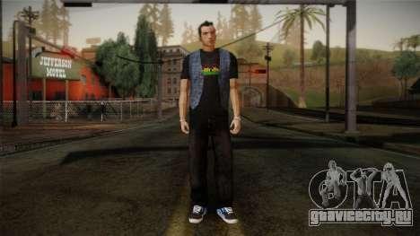 Gedimas Jamal Skin HD для GTA San Andreas