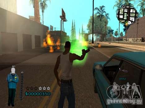 FBI HUD для GTA San Andreas четвёртый скриншот