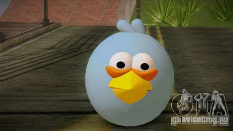 Blue Bird from Angry Birds для GTA San Andreas третий скриншот