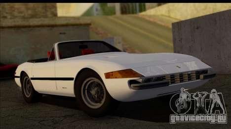 Ferrari 365 GTS4 Daytona (US-spec) 1971 [HQLM] для GTA San Andreas
