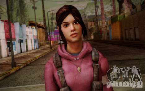 Zoey from Left 4 Dead Beta для GTA San Andreas третий скриншот