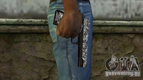 Новый Пистолет v1 для GTA San Andreas третий скриншот