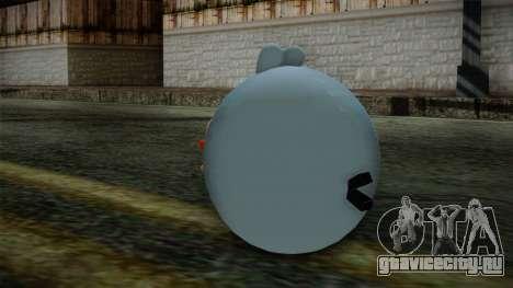 Blue Bird from Angry Birds для GTA San Andreas второй скриншот