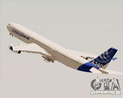 Airbus A340-300 Airbus S A S House Livery для GTA San Andreas