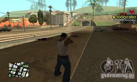 C-HUD By Fernando для GTA San Andreas третий скриншот