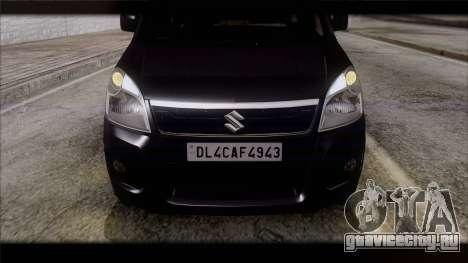 Suzuki Wagon R 2010 для GTA San Andreas вид справа