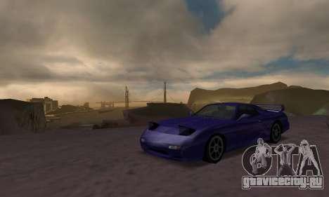 Beta ZR-350 для GTA San Andreas вид сзади слева