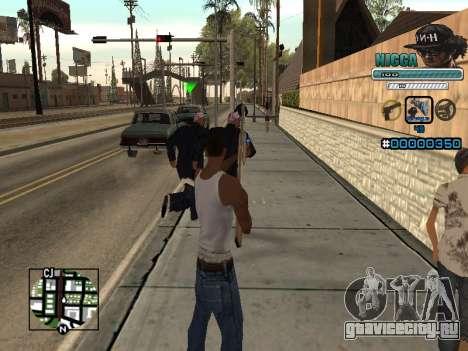 C-HUD Человек в Кепке для GTA San Andreas третий скриншот
