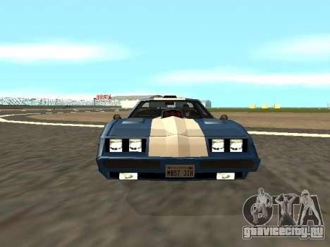 New Phoenix для GTA San Andreas вид сверху