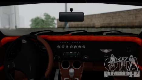 Morgan AeroSS 2013 v1.0 для GTA San Andreas вид сзади слева