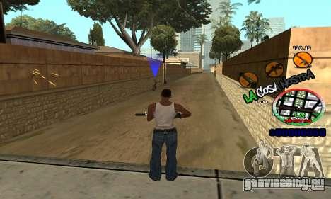 C-HUD La Cosa Nostra для GTA San Andreas четвёртый скриншот
