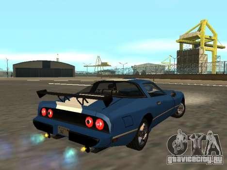 New Phoenix для GTA San Andreas вид изнутри