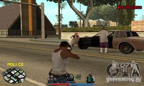 C-HUD Police для GTA San Andreas четвёртый скриншот