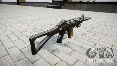 Автомат SIG SG 552 silencer для GTA 4 второй скриншот