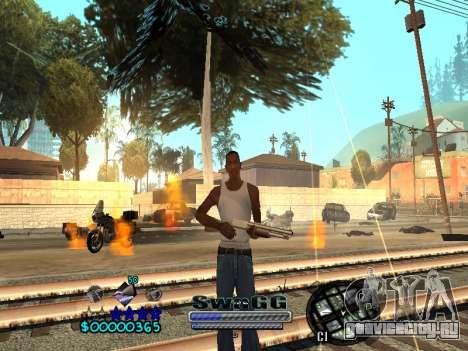 CLEO HUD SWAGG для GTA San Andreas четвёртый скриншот