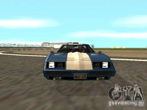 New Phoenix для GTA San Andreas вид сбоку