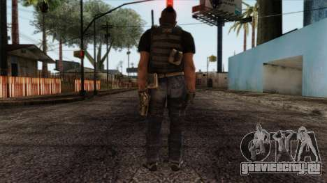 Modern Warfare 2 Skin 17 для GTA San Andreas второй скриншот