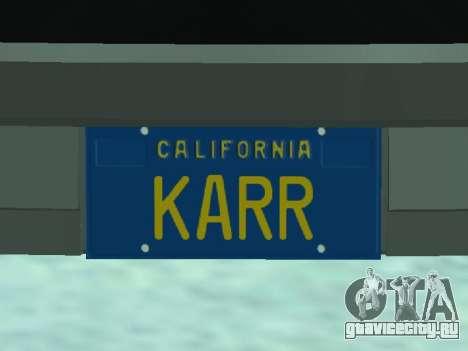 Pontiac Trans-Am K. A. R. Р. для GTA San Andreas вид сзади