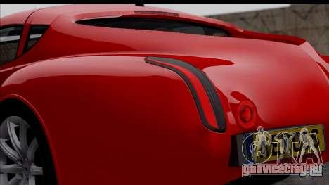 Morgan AeroSS 2013 v1.0 для GTA San Andreas вид сзади