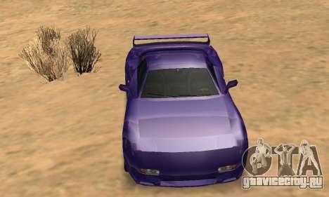 Beta ZR-350 для GTA San Andreas колёса