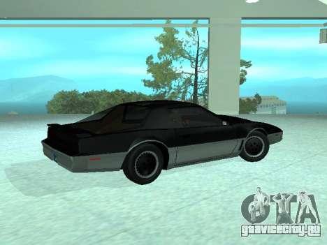 Pontiac Trans-Am K. A. R. Р. для GTA San Andreas вид слева