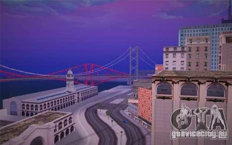 FaFan ENB series для GTA San Andreas третий скриншот