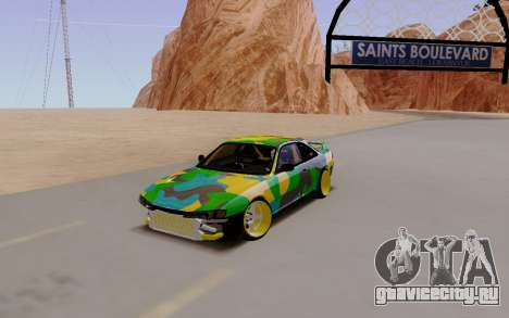 Nissan Silvia S14 Hunter для GTA San Andreas