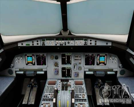 Airbus A320-200 Air India (Star Alliance Livery) для GTA San Andreas салон