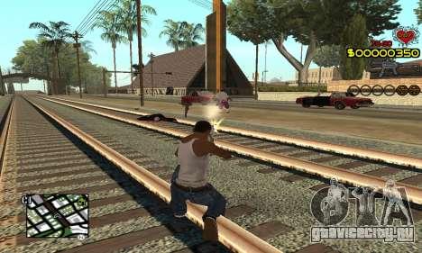 C-HUD By Fernando для GTA San Andreas второй скриншот