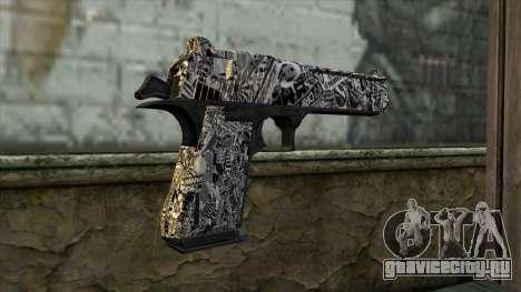 Новый Пистолет v2 для GTA San Andreas второй скриншот
