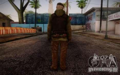 Bill from Left 4 Dead Beta для GTA San Andreas второй скриншот