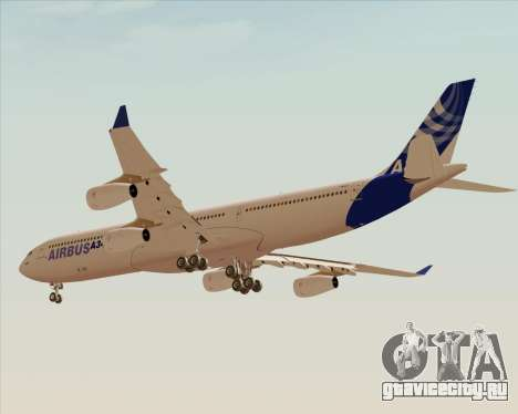 Airbus A340-300 Airbus S A S House Livery для GTA San Andreas вид сзади