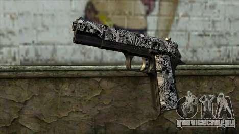 Новый Пистолет v1 для GTA San Andreas