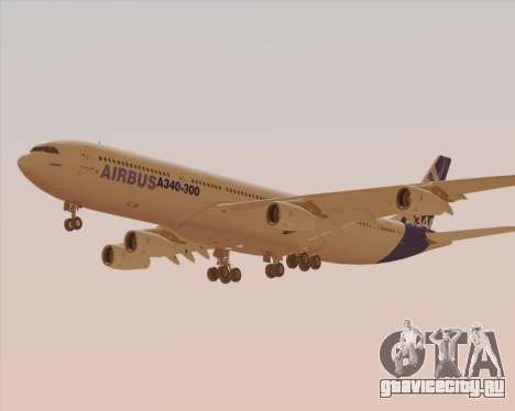 Airbus A340-300 Airbus S A S House Livery для GTA San Andreas вид сбоку