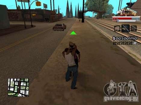 CLEO HUD for SA:MP - RP для GTA San Andreas третий скриншот