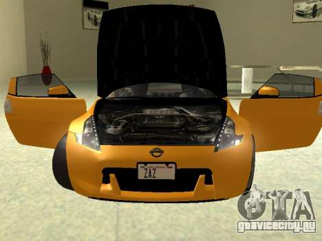 Nissan 370 Z Z34 2010 Tunable для GTA San Andreas вид справа