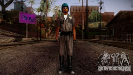 GTA San Andreas Beta Skin 10 для GTA San Andreas
