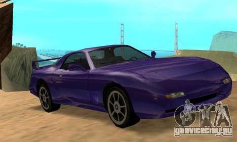 Beta ZR-350 для GTA San Andreas вид сбоку