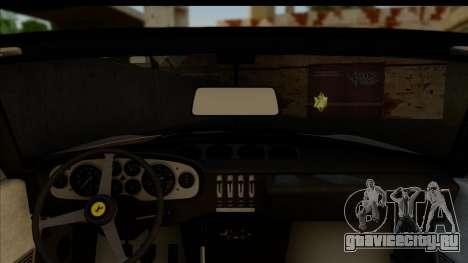 Ferrari 365 GTS4 Daytona (US-spec) 1971 [HQLM] для GTA San Andreas вид сзади