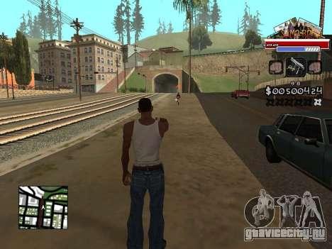 CLEO HUD for SA:MP - RP для GTA San Andreas