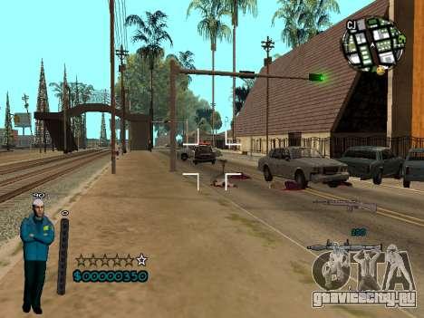 FBI HUD для GTA San Andreas третий скриншот