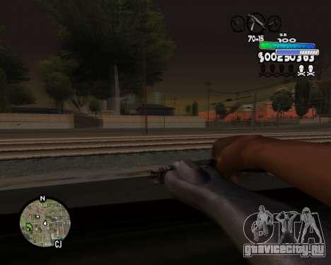 С-HUD Metro для GTA San Andreas четвёртый скриншот