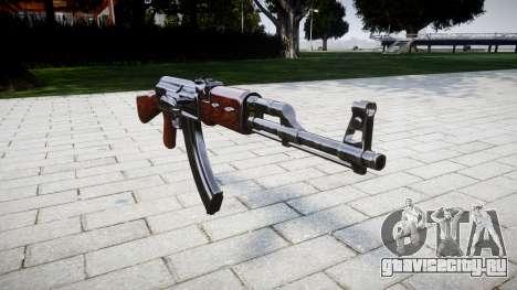Автомат АК-47 Stock для GTA 4