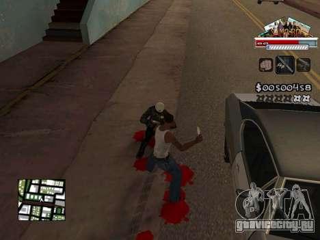 CLEO HUD for SA:MP - RP для GTA San Andreas четвёртый скриншот