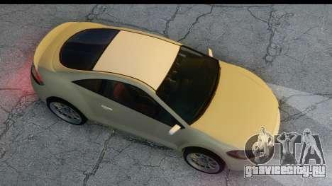 GTA 5 Maibatsu Penumbra для GTA San Andreas вид сзади слева