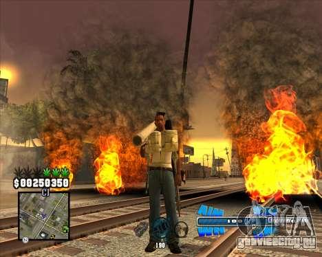 C-HUD Big Cull для GTA San Andreas второй скриншот