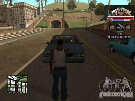 CLEO HUD for SA:MP - RP для GTA San Andreas второй скриншот