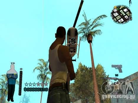 FBI HUD для GTA San Andreas пятый скриншот